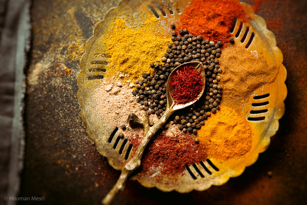 Spices by Hooman Mesri