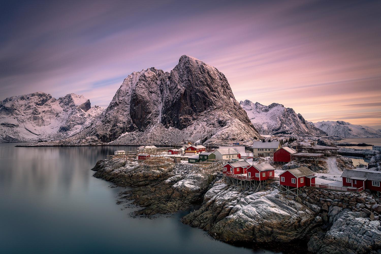 Good Morning Hamnoy by Mikkel Beiter