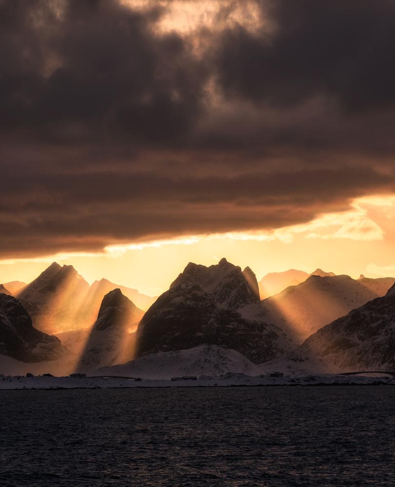 Mountain Rays by Mikkel Beiter