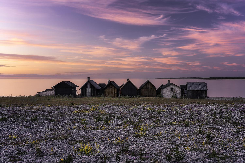 The Fishing Village by Mikkel Beiter