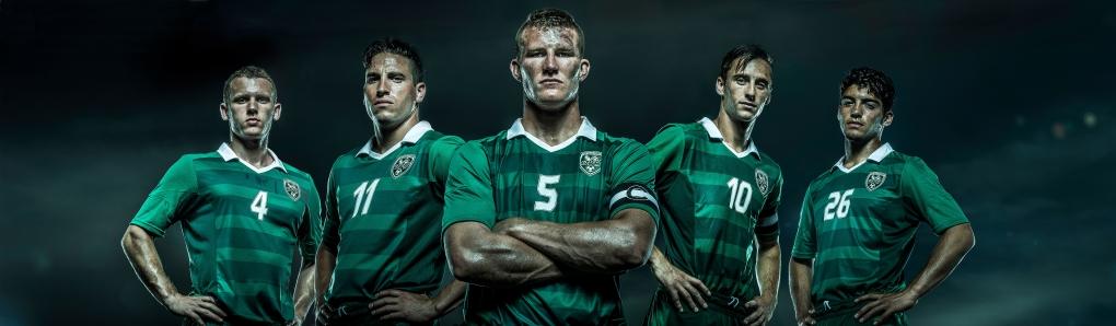 Soccer Team by August Miller