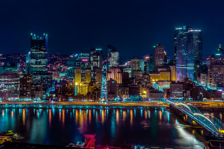 Pittsburgh Skline by Christos Dikos