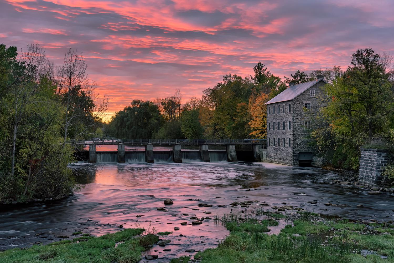 Village Morning by Brad Jones