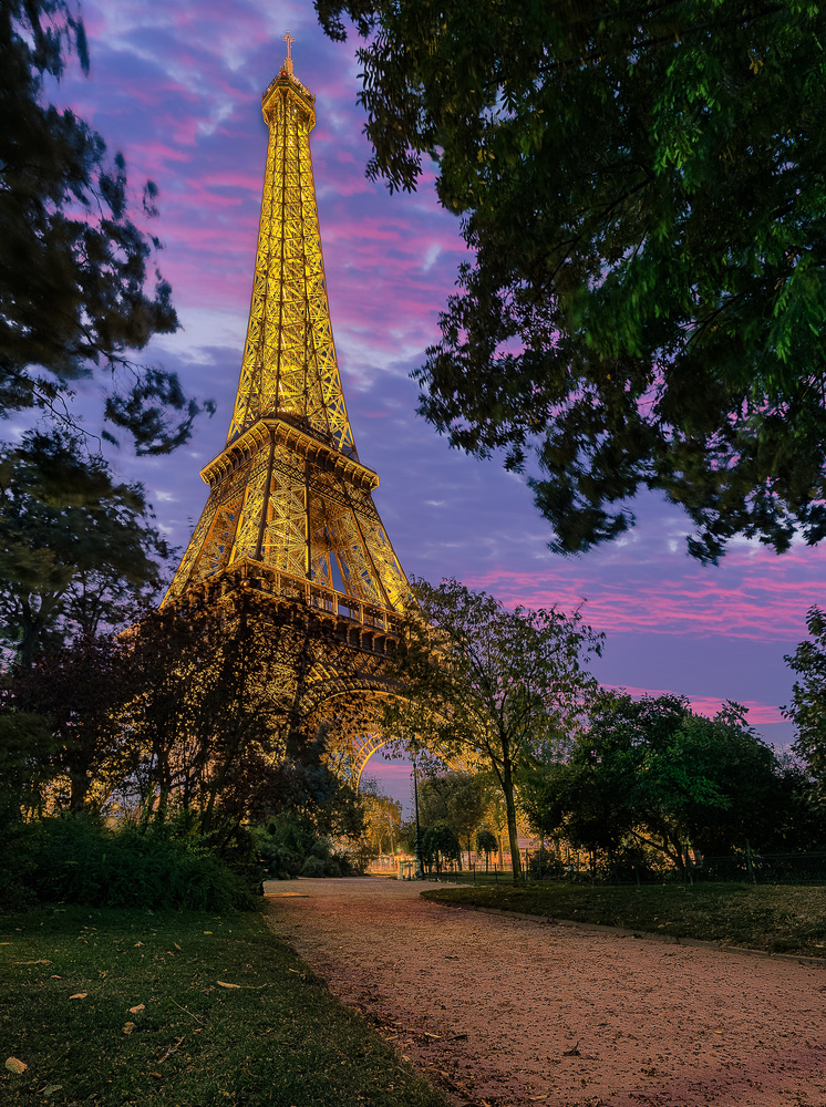 The Tower at Night by Brad Jones