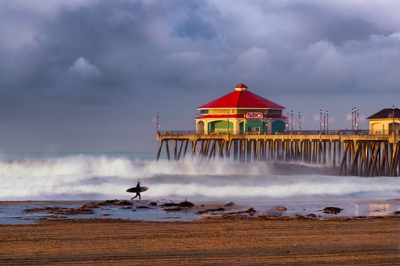 Huntington Beach by Brad Jones