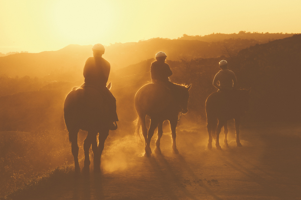 Golden hour riding by Julian DiIorio