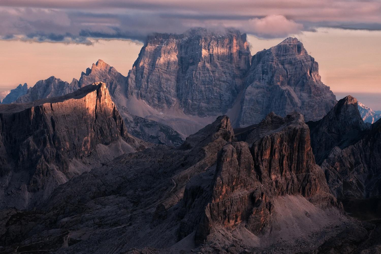 Mt. Pelmo by Lazar Dimitrov