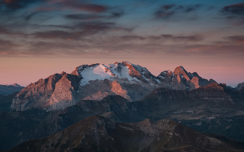 Marmolada at sunrise by Lazar Dimitrov