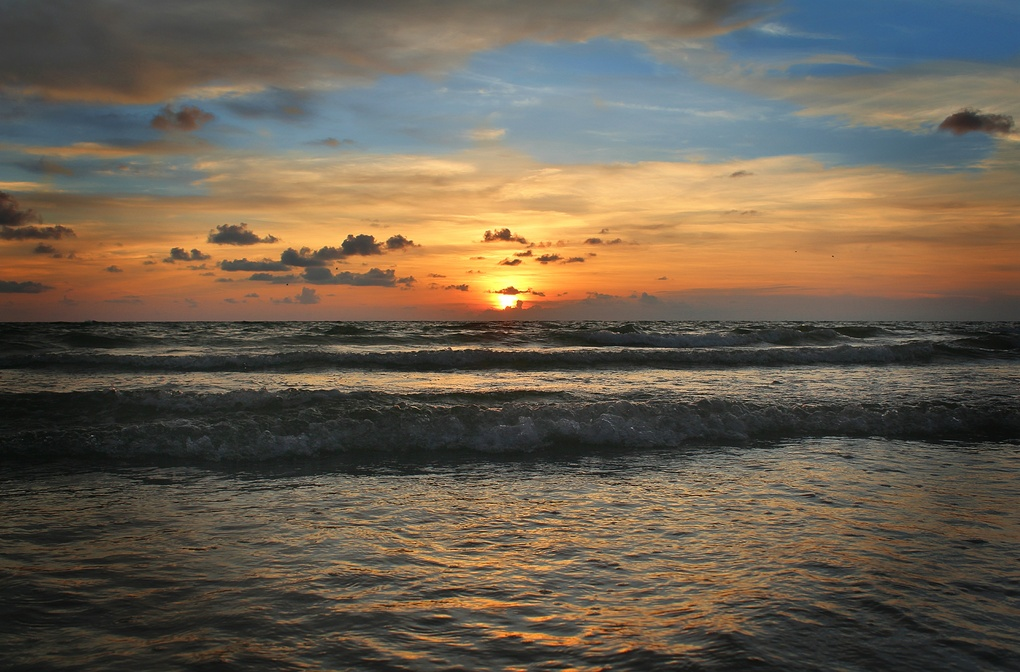 sunset by Gary Stone