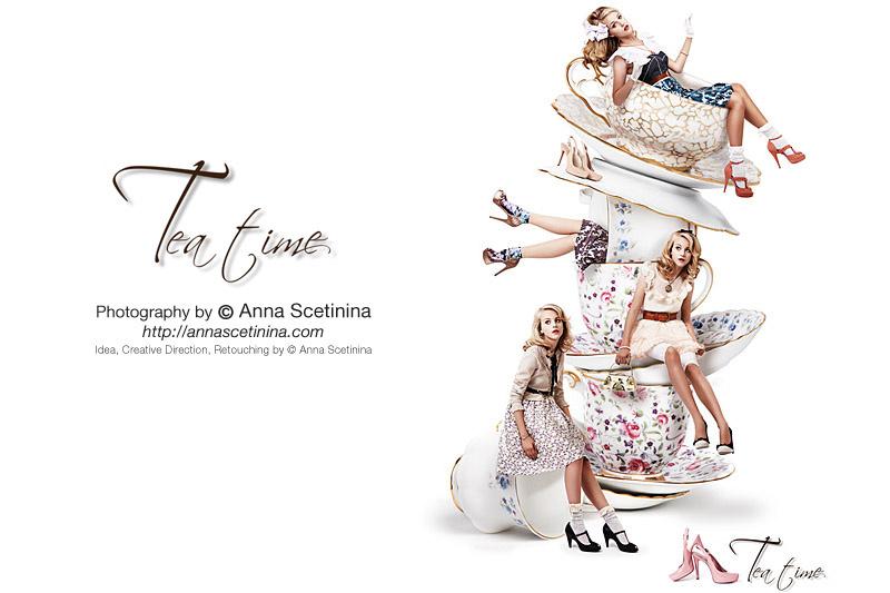 Tea Time by Anna Scetinina