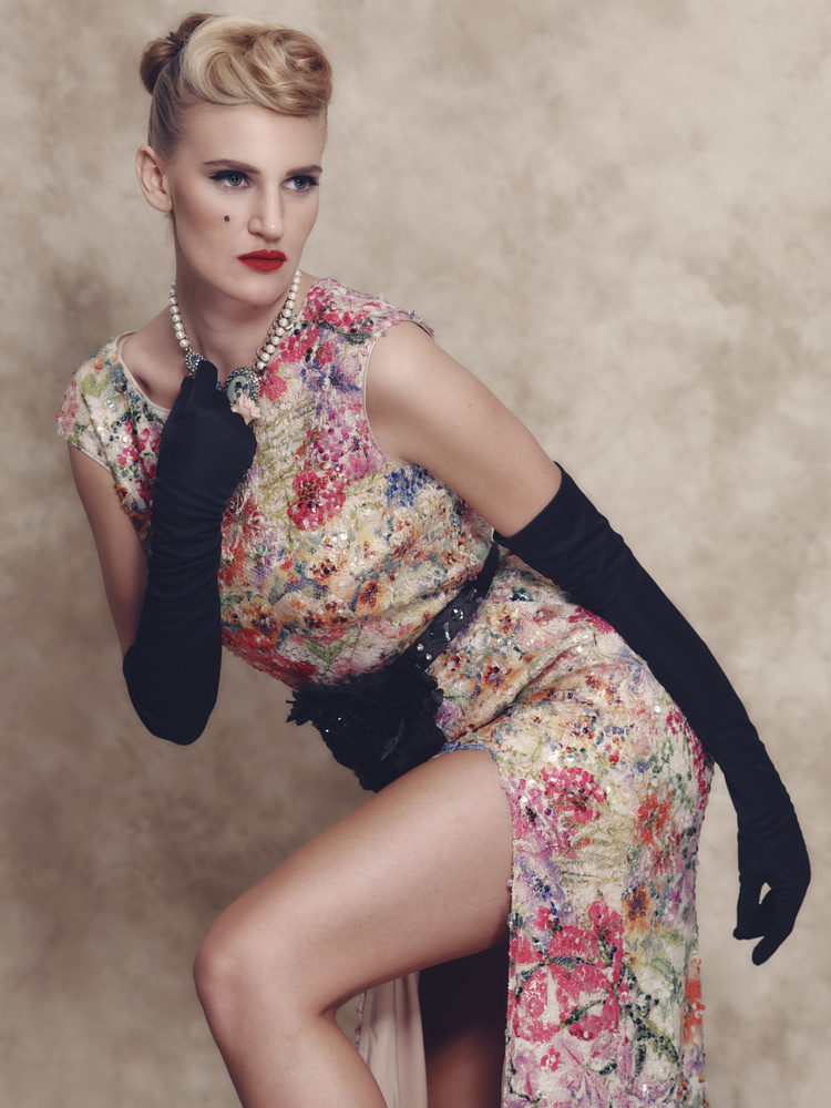 Vintage inspired Fashion with Erin by Jared Wolfe