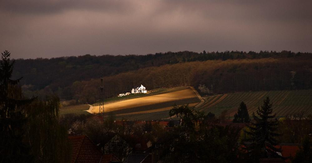 German Farm at Last Light by David Peruzzini