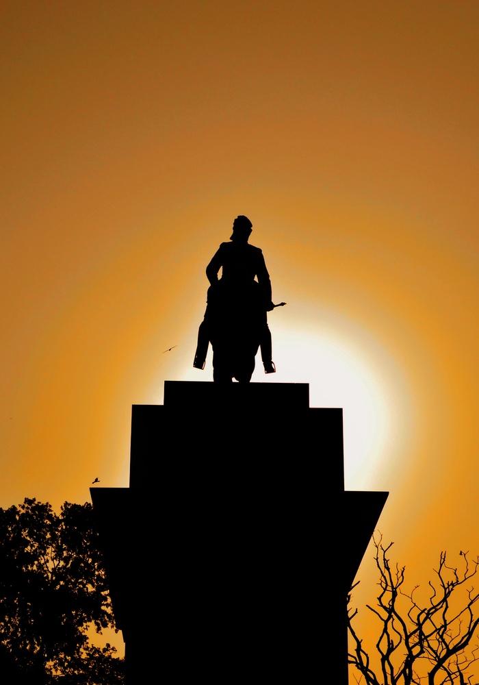 Silhouette by Subhrajyoti Saha