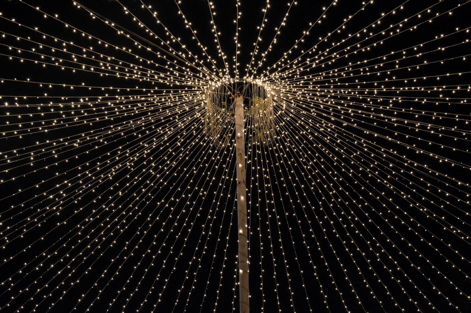 Rice lights by Subhrajyoti Saha