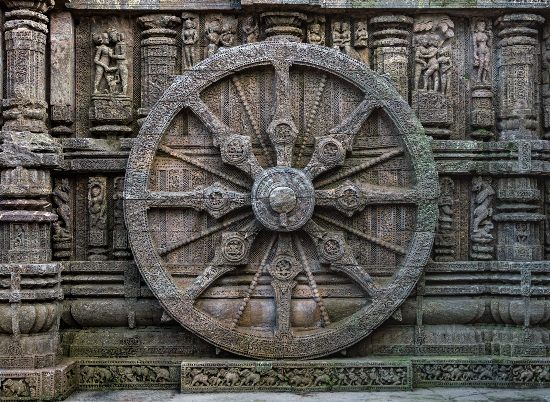 Chariot Wheel - Sun Temple, Konark by Subhrajyoti Saha