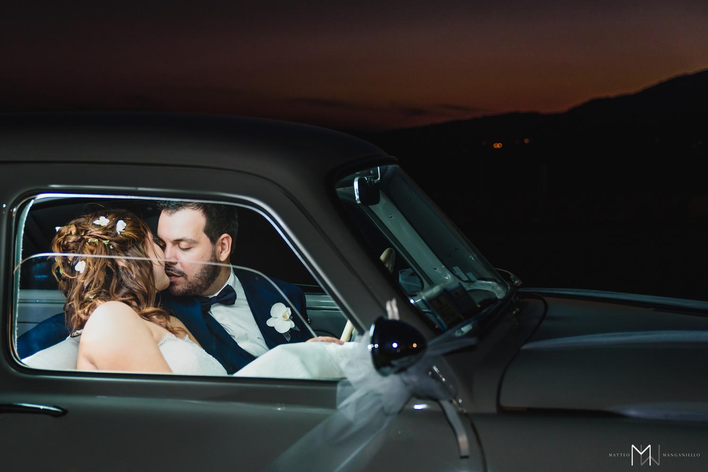 Kiss at the sunset by Matteo Manganiello