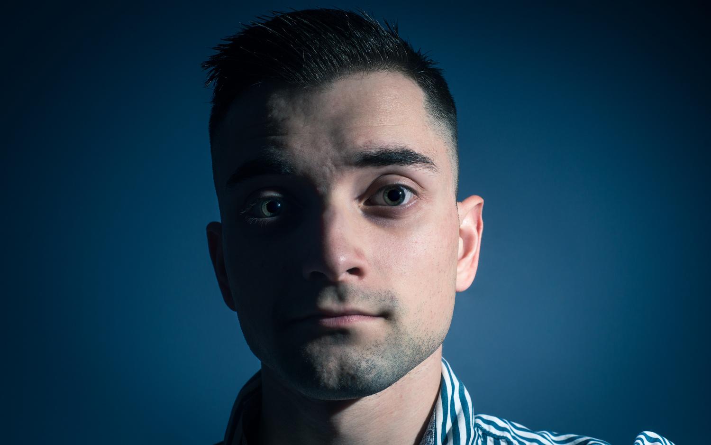 Self Portrait by Zachary Shenal