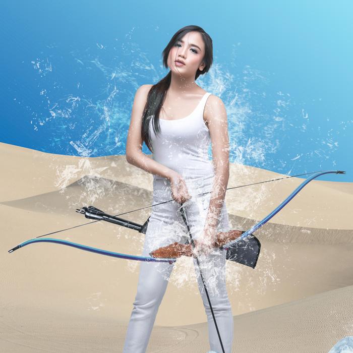 Archery Beauty by Azmi File