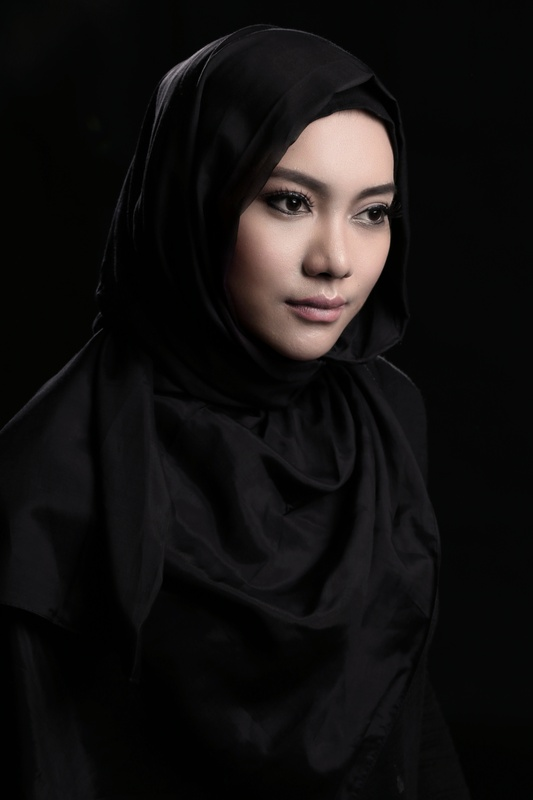Black Hijab - Marisca by Azmi File