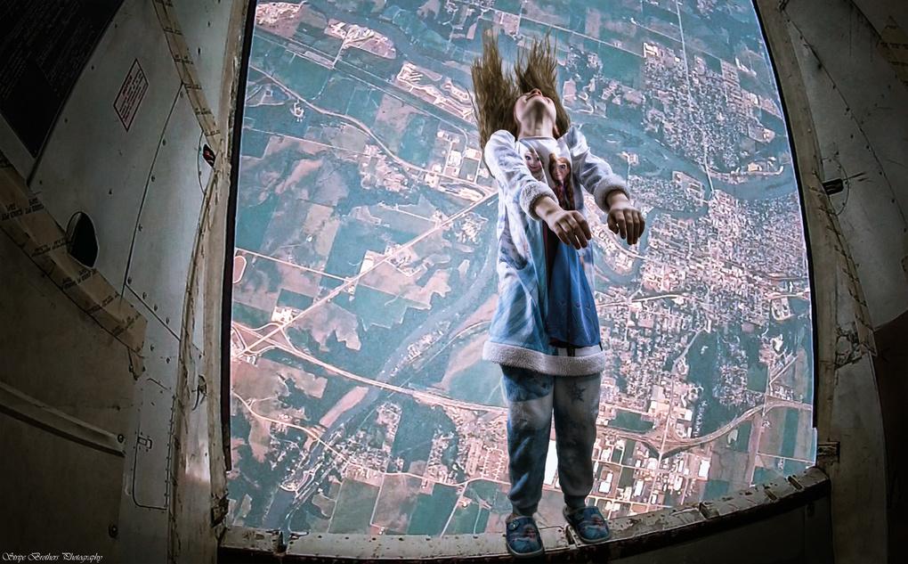 Fallin' or Flyin' by Darrin Stripe