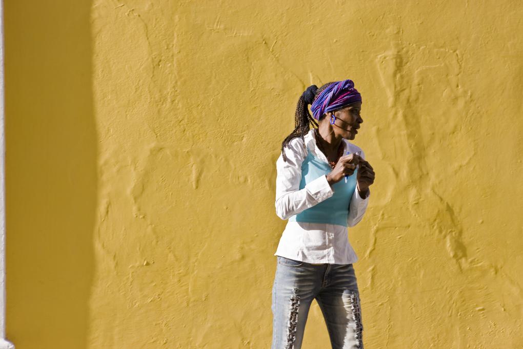 Cuba - Portrait of a woman by Aaron Smale