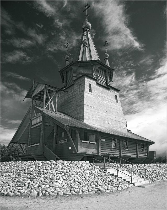 Church of St. Nicholas by Nikolai Malykh