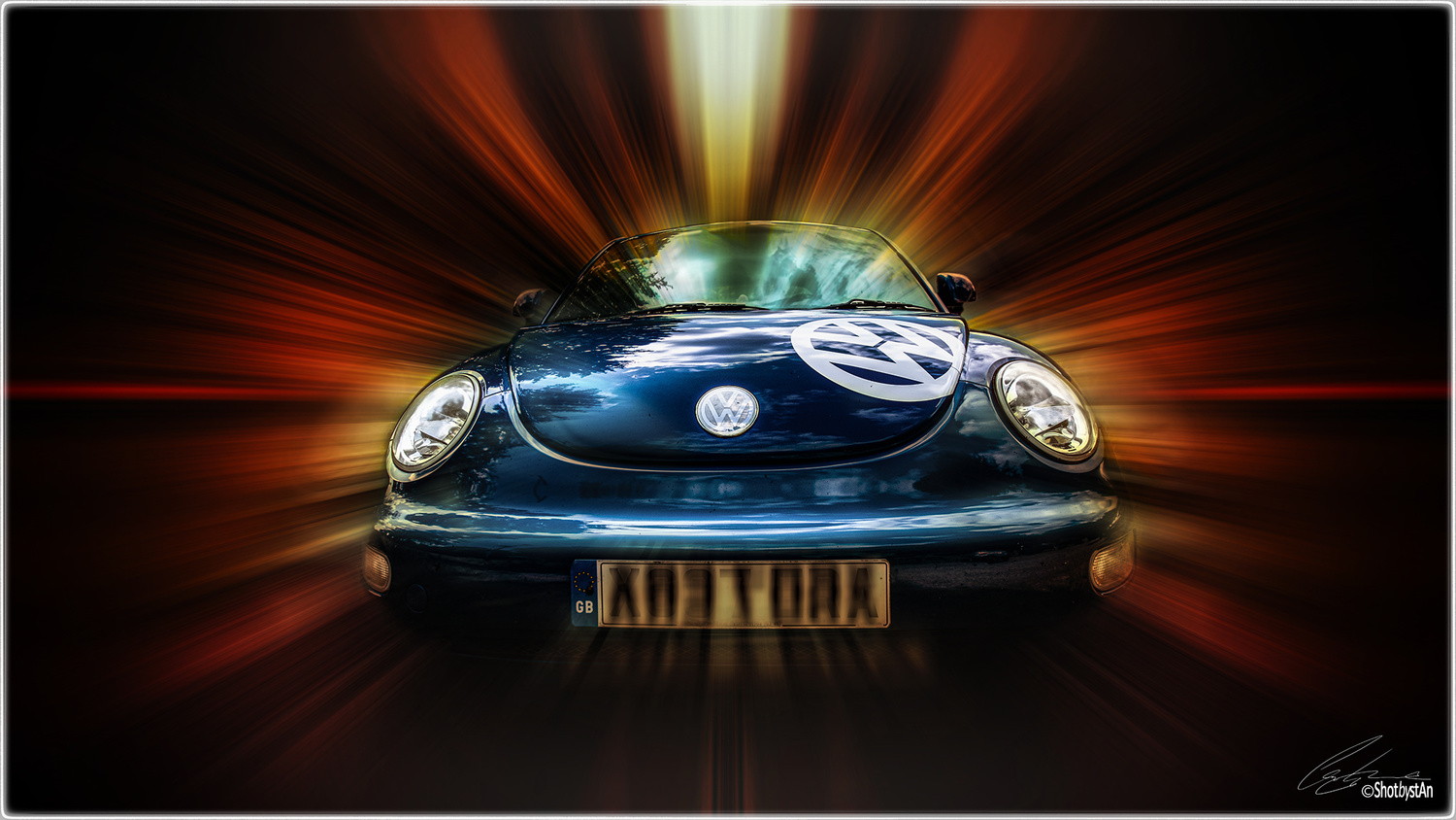 VW Beetle by Chris 'stAn' Hargrave