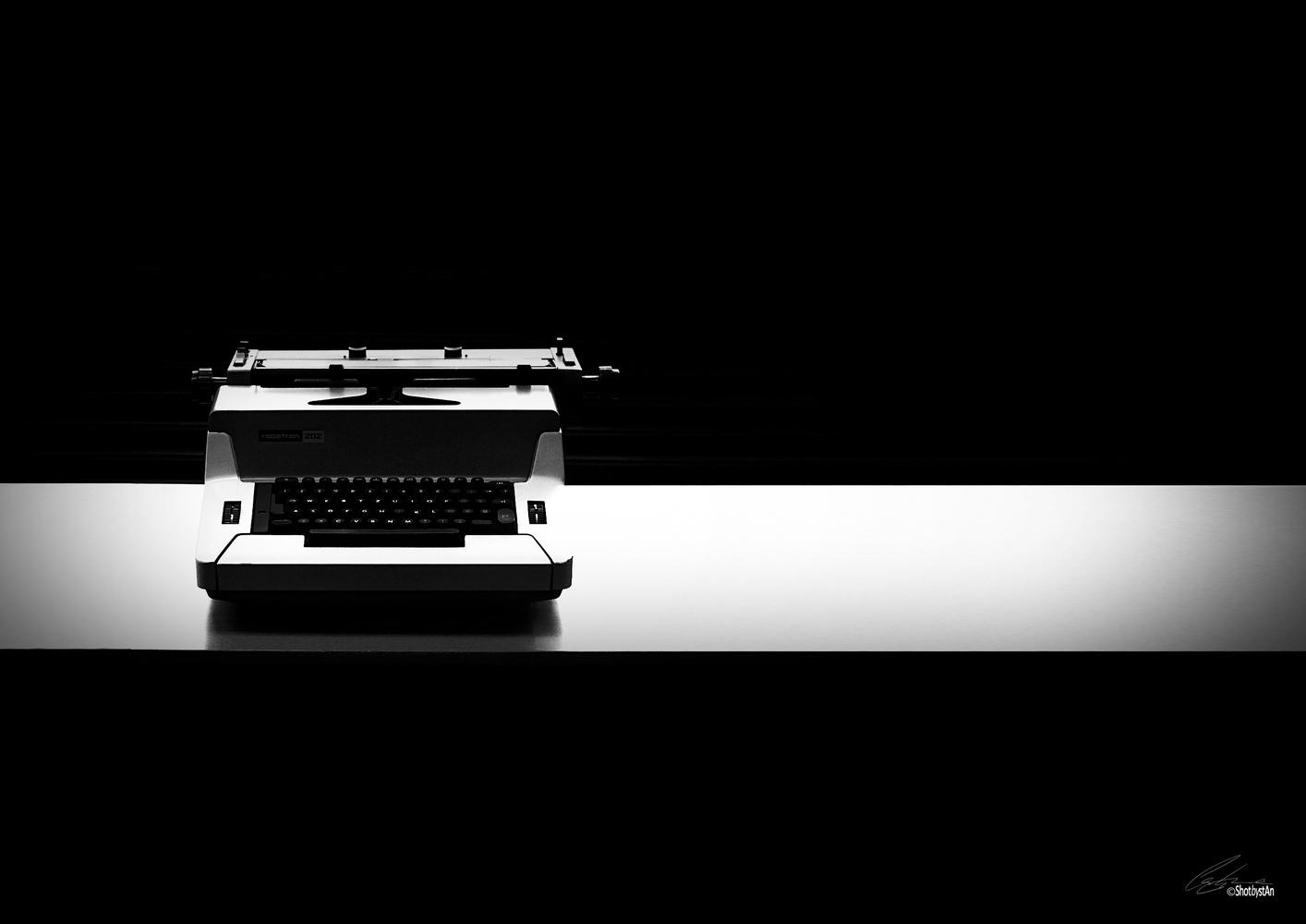 Typewriter by Chris 'stAn' Hargrave
