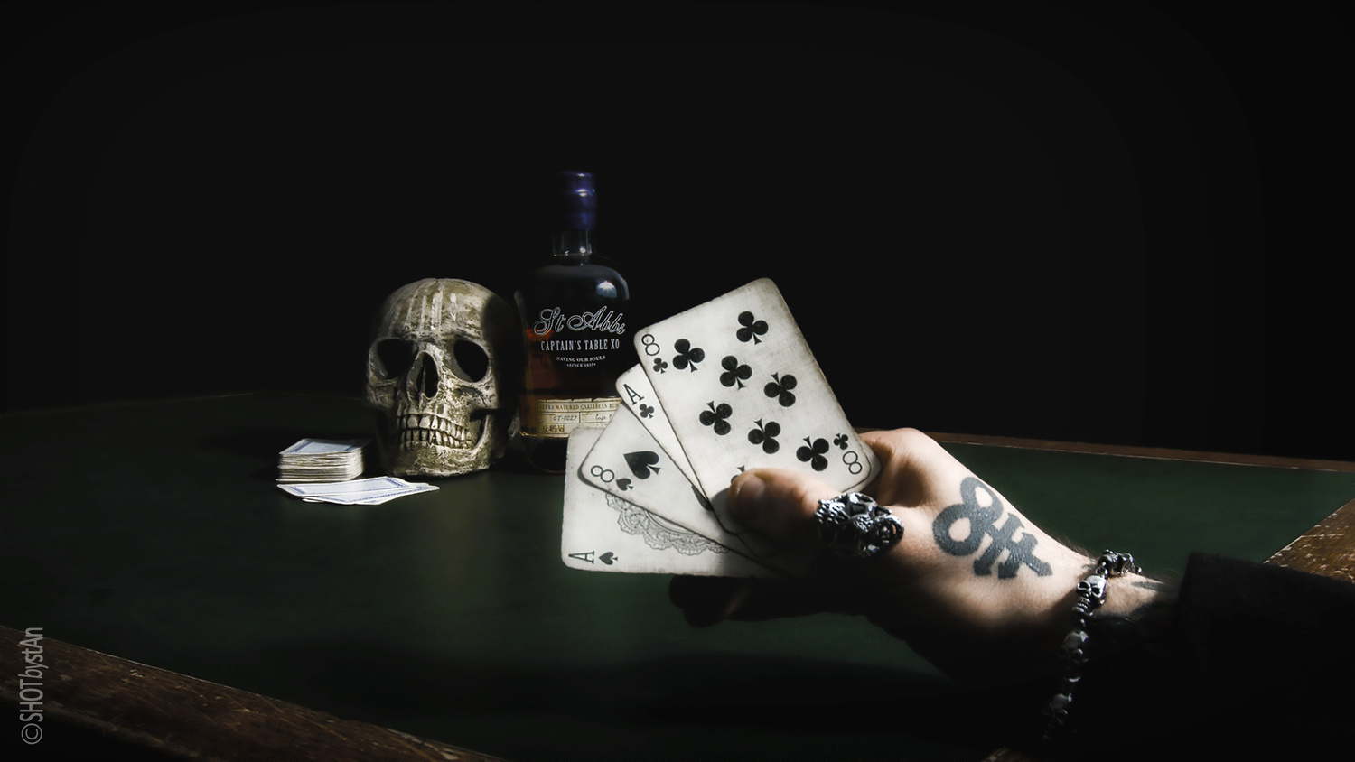 Dead Mans Hand  by Chris 'stAn' Hargrave