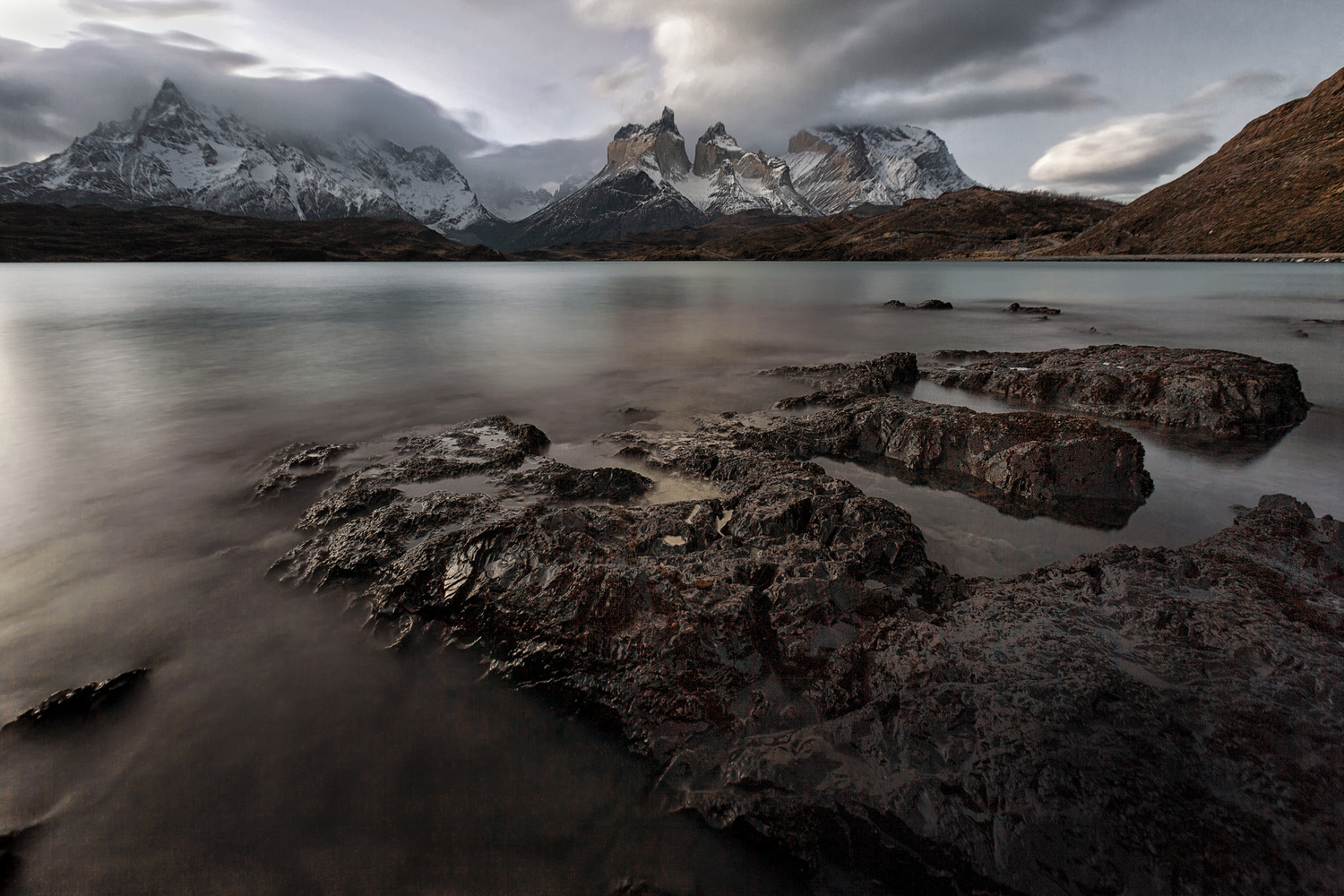 Winter in Torres del Paine by Andrea Torselli