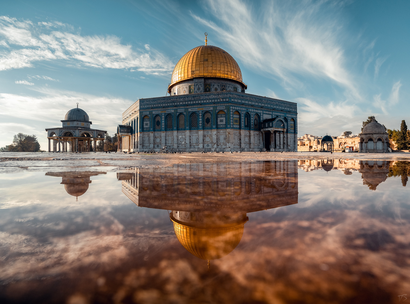 holy temple mount by Dominik Steindl