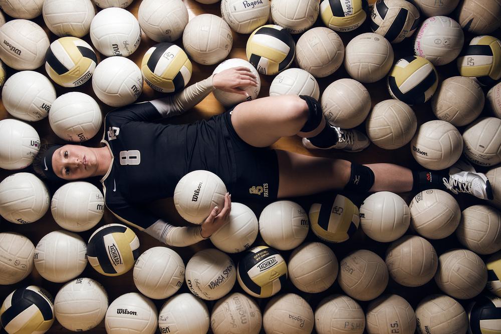Volleyball Portrait by Michael Pierce