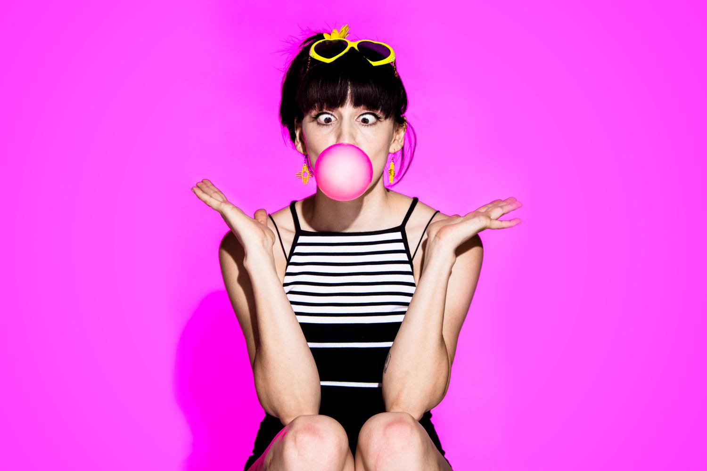 Pink Bubble by Michael Pierce