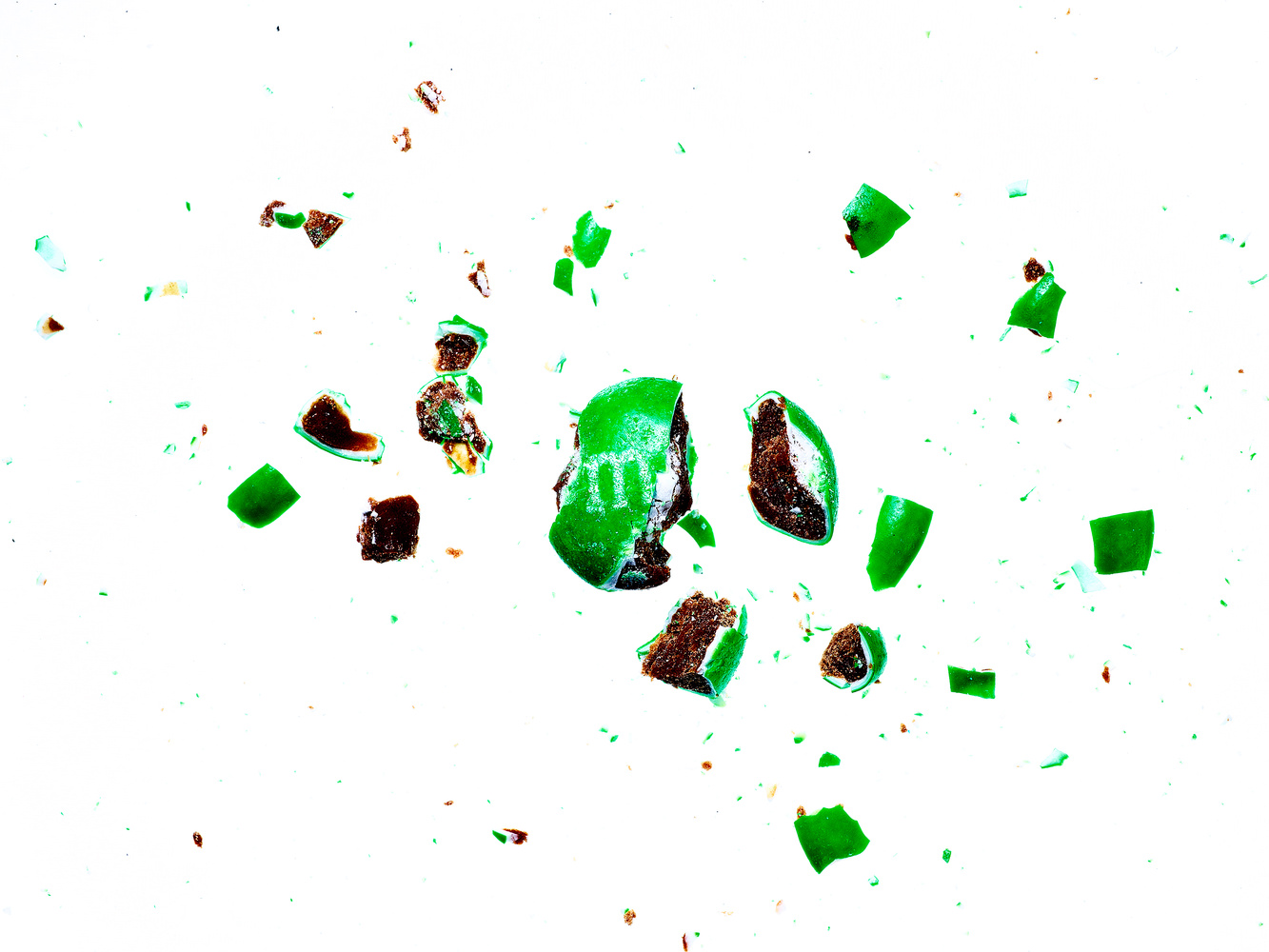 Exploding Candy - Green by Michael Pierce