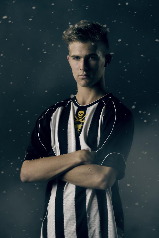 Soccer Portrait by Michael Pierce