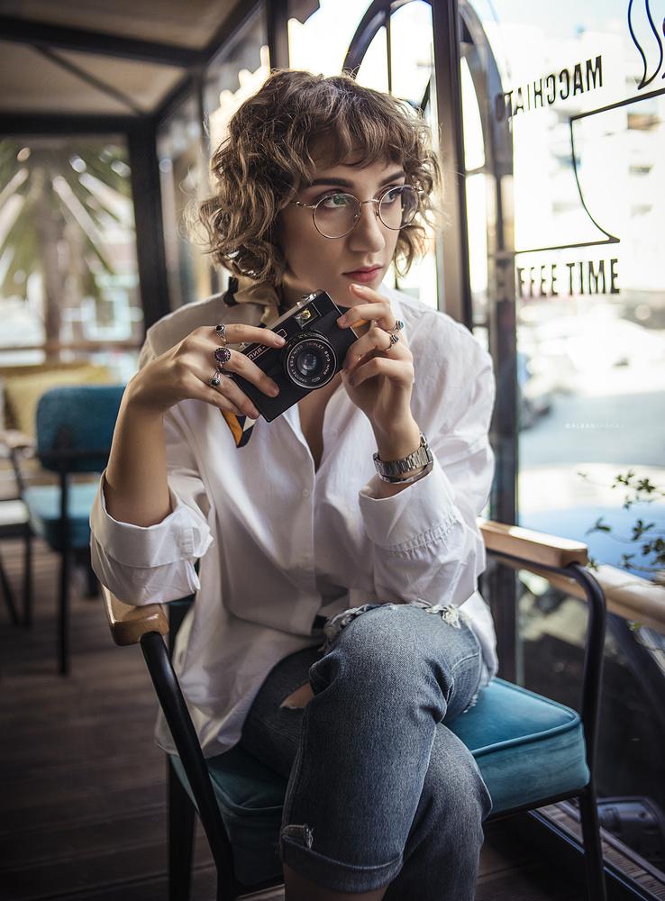 with the camera by Alban Xhakaj