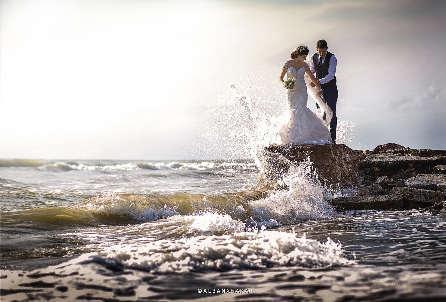 In the water by Alban Xhakaj