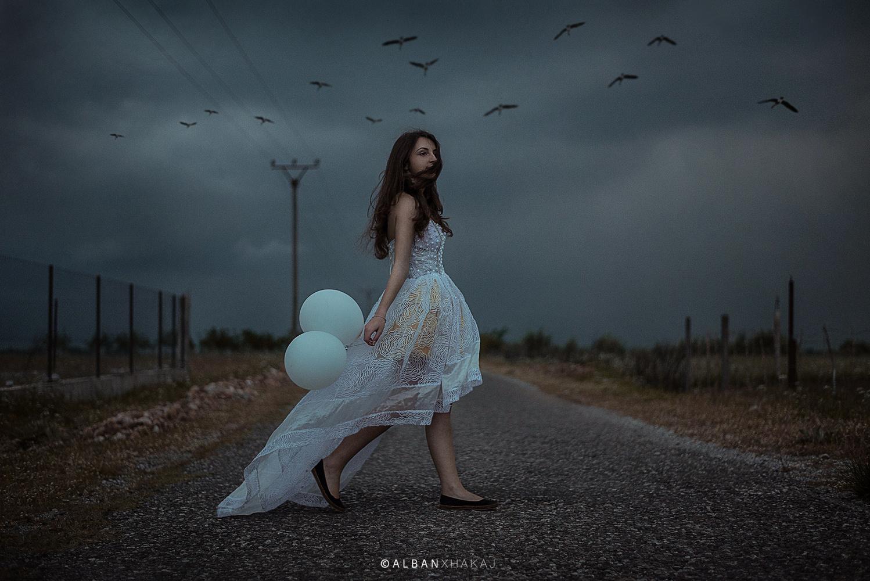 White in Darkness by Alban Xhakaj