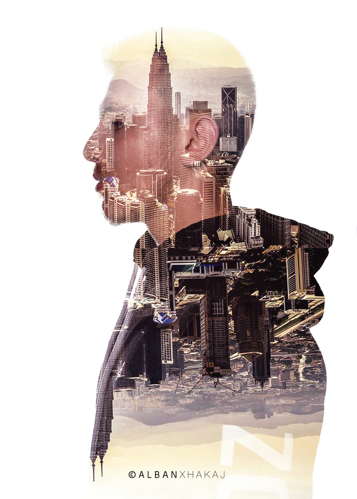 City Man by Alban Xhakaj