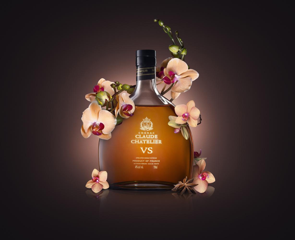 Cognac Bottle by Artem Pissarevskiy