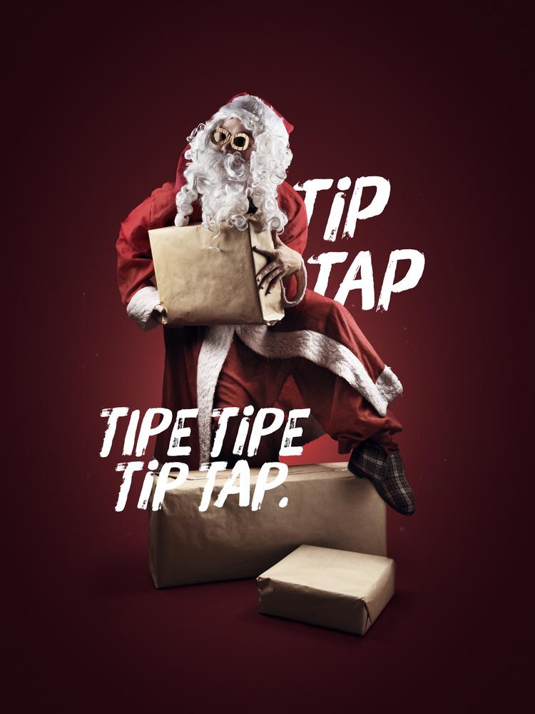 Christmas Card - Tip Tap by Artem Pissarevskiy