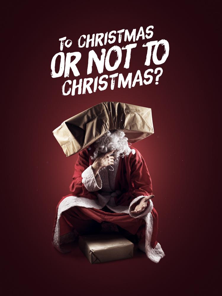 Christmas Card - To Christmas or not to Christmas? by Artem Pissarevskiy