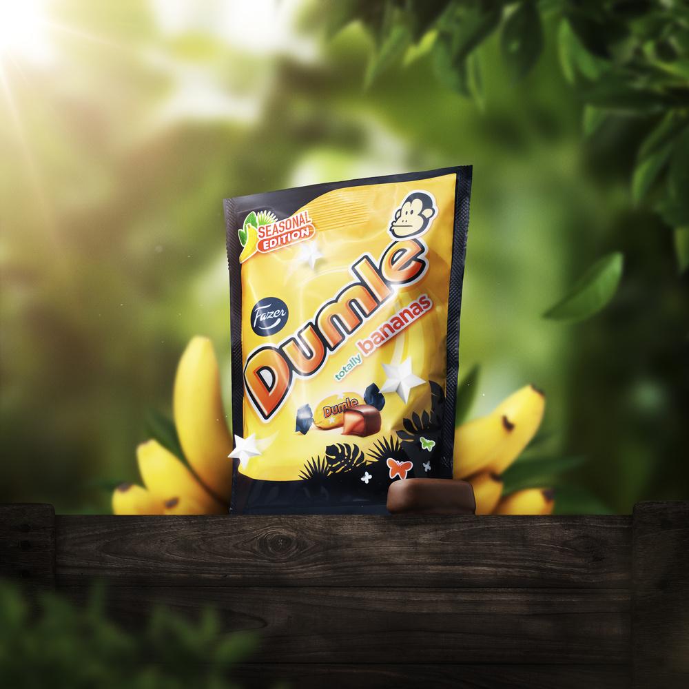 Fazer Dumle: Totally Bananas! by Artem Pissarevskiy
