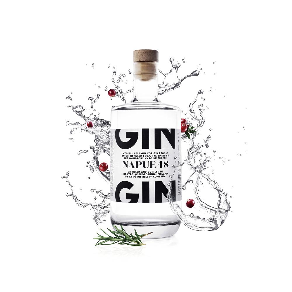 Napue 48 Rye Gin by Artem Pissarevskiy