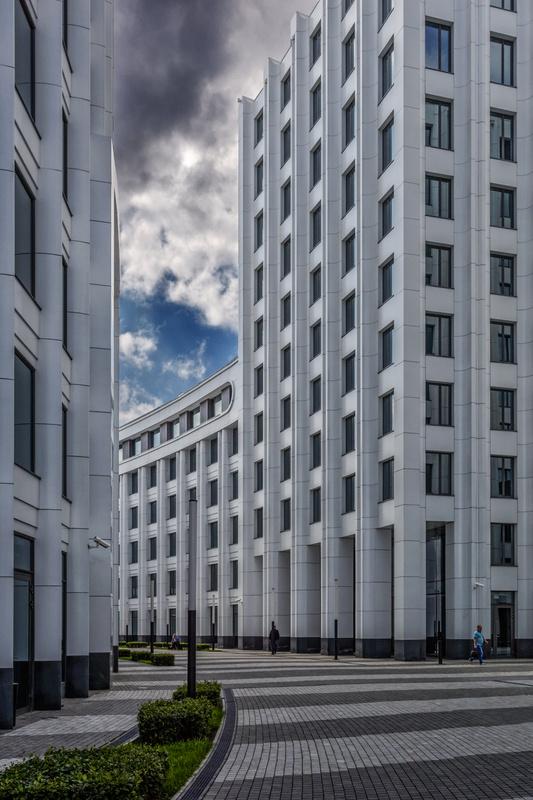 White lines by Vitaly Vlasov