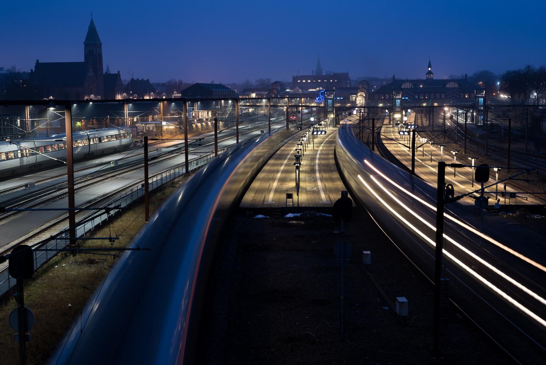 The Train Station by Martin Georgiev