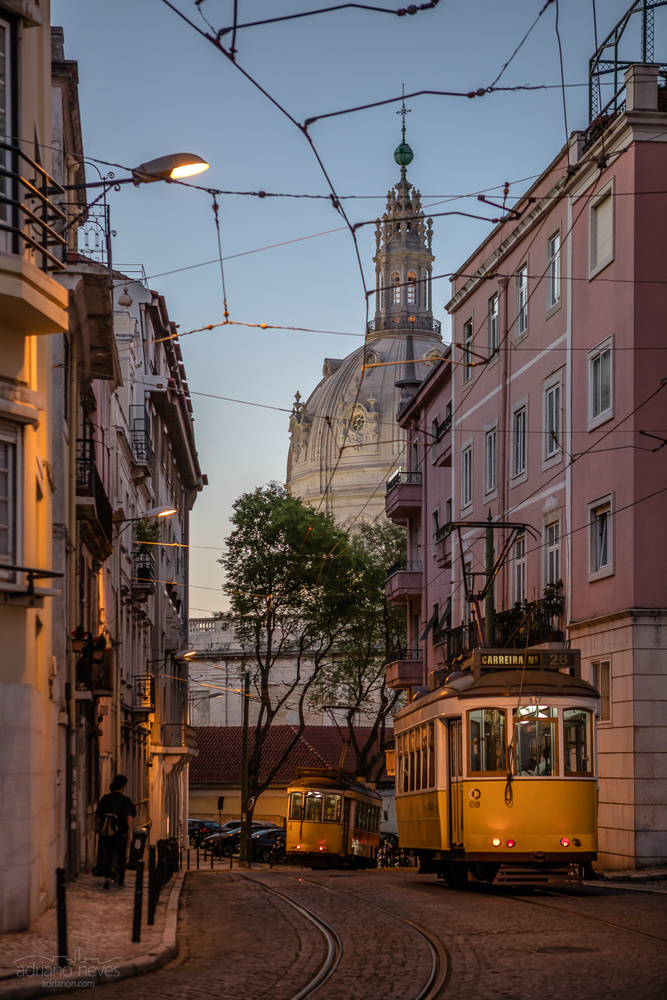 Tram 28 - Portugal, Lisbon by Adriano Neves