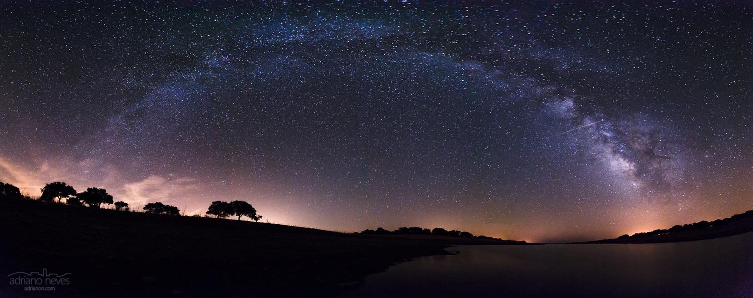 Alqueva's August Sky - Portugal, Alentejo by Adriano Neves