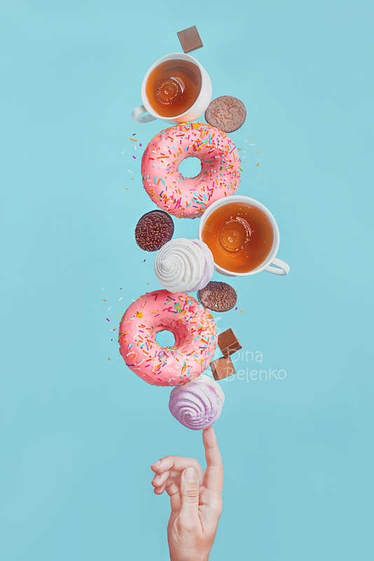 Weekend donuts by Dina Belenko