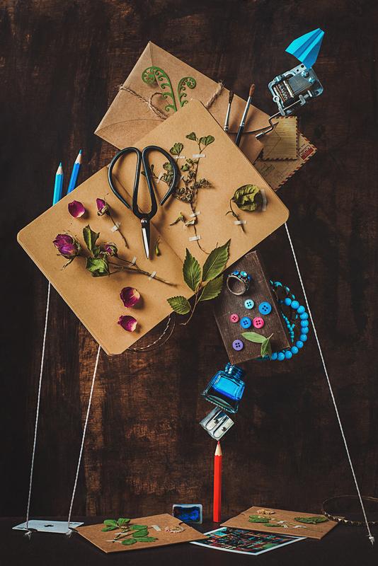 Notes and keepsakes by Dina Belenko